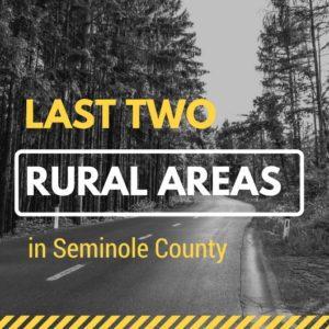 Rural locations in Seminole County