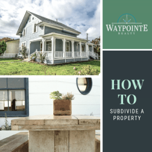 how to subdivide a property