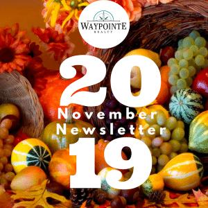 November 2019 Real Estate Newsletter