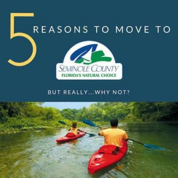 5 reasons why you should move to Seminole County